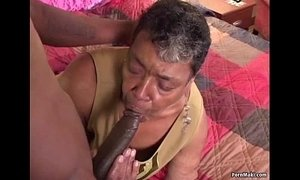big black cock  ebony mature  grandma  old granny