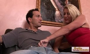 blonde mature  deepthroat  dick  fuck  housewife  women