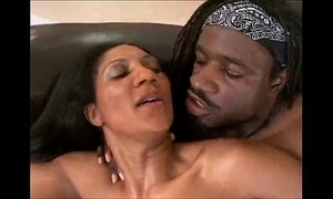 black cock  ebony mature  granny  wife