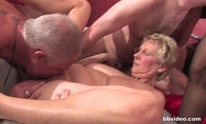 4some  fuck  german moms  granny